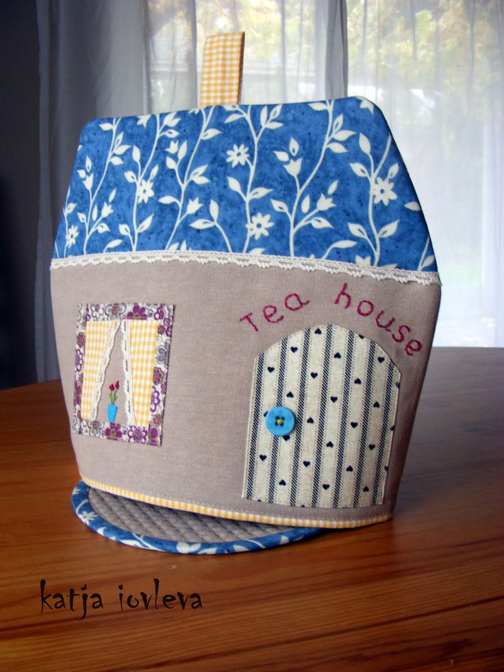 handmade by Katja Iovleva tea cosy