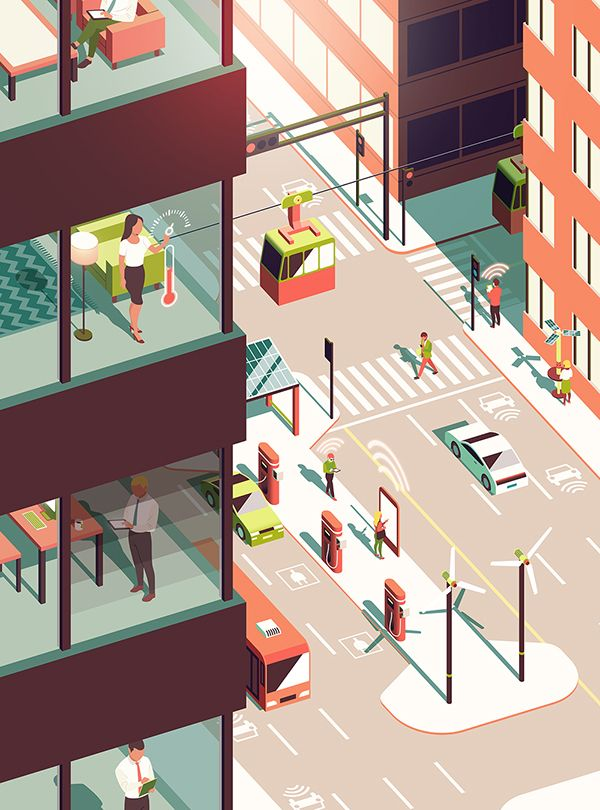 <Building Science Bulletin> Illustration by Donghyun Lim / Art Direction by Almasty
