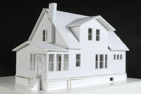 1000 images about foam board models on pinterest model for Foam panel house
