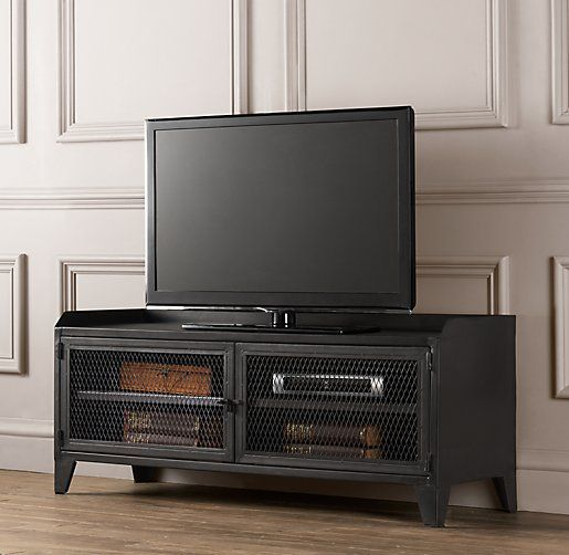 French Railroad Media Console Casual Living Room Pinterest Furniture Tv Cabinets And Tvs