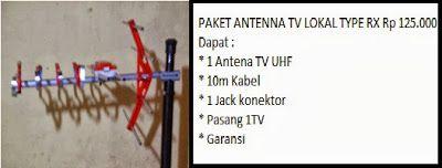 PASANG ANTENA TV - PARABOLA - CCTV - ANTI PETIR RUMAH: PASANG ANTENA TV UHF JABODETABEK