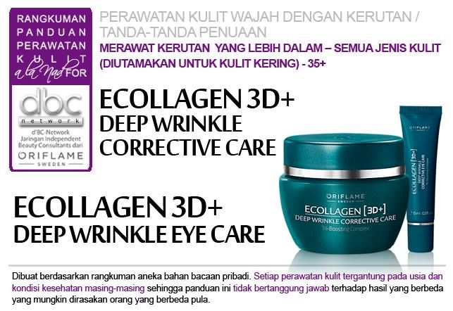 Ecollagen 3D+ Deep Wrinkle Corrective Care | Ecollagen 3D+ Deep Wrinkle Eye Care |   #perawatan #kulit #wajah #kerutan #penuaan   #semuajenis #kulit #kering #35+ #tipsdBCN #Oriflame
