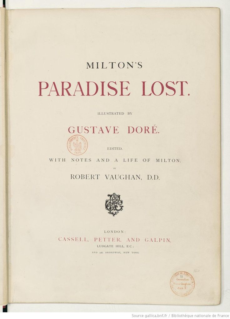 paradise lost illustrated by gustave dore pdf