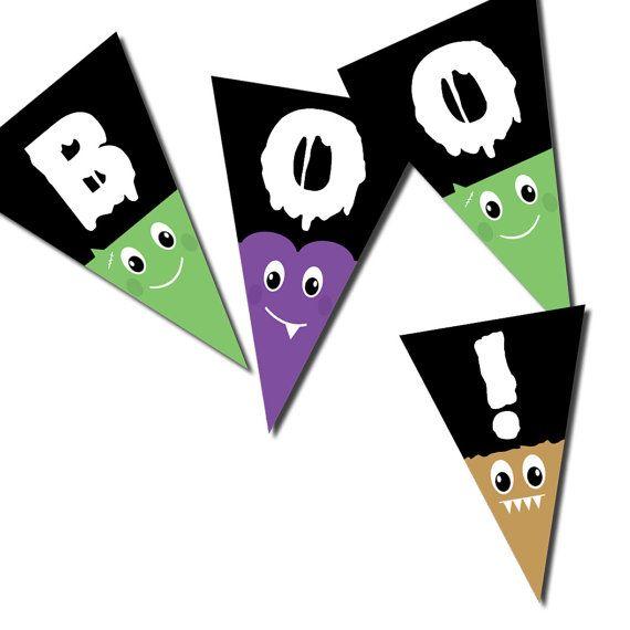 Halloween Banner Party Decoration PDF by WhilstDigitalStash