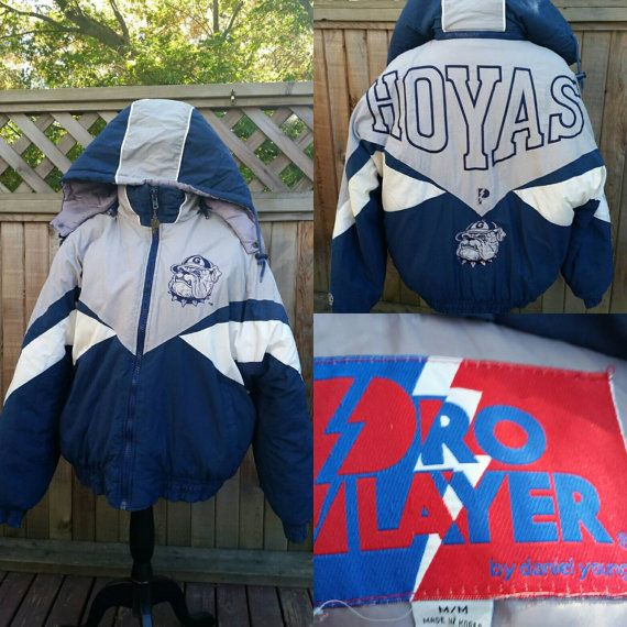 Check out this item in my Etsy shop https://www.etsy.com/ca/listing/481727917/vintage-georgetown-hoyas-pro-player-by