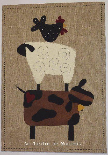 414 best images about a sheep quilt patterns on pinterest for Le jardin de woolens