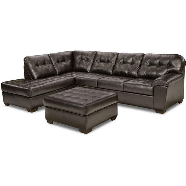 Simmons Brooklyn Sectional 2-Piece Set ? liked on Polyvore featuring home furniture  sc 1 st  Pinterest : simmons brooklyn sectional - Sectionals, Sofas & Couches