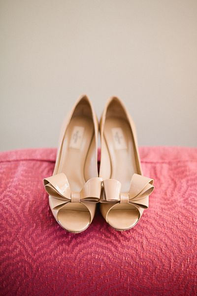 bow heels | Lauren Friday #wedding