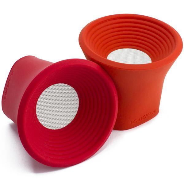 KAKKOii W.O.W. Plus Stereo Wireless Speaker - Red