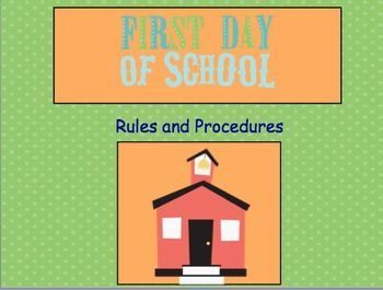 First Day Procedures - Interactive  Includes Notebook file and Power Point file.  $4