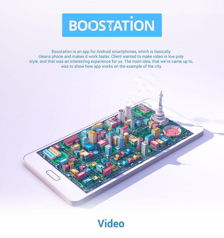 """查看此 @Behance 项目:""""Boostation""""https://www.behance.net/gallery/41330747/Boostation"""