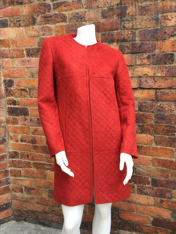 #Abrigo #Acolchonado #rojo #fashion #ElenaUrrutia