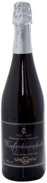 Winterkoninkske Grand Cru • Sinds december 2009 is ons Winterkoninkske Grand Cru geboren, een zwaar donker bier om met mate van te genieten. Door het gebruik van verschillende donkere mouten krijgen we chocolade, koffie en sherry toetsen. Hierdoor past het perfect bij wild gerechten en chocoloade desserten. Het strafste winterbier van Limburg. Dit bier is enkel verkrijgbaar per fles van 75 cl. Het wordt niet per glas verkocht. Het alcoholgehalte van het Winterkoninske Grand Cru: 13% vol.alc