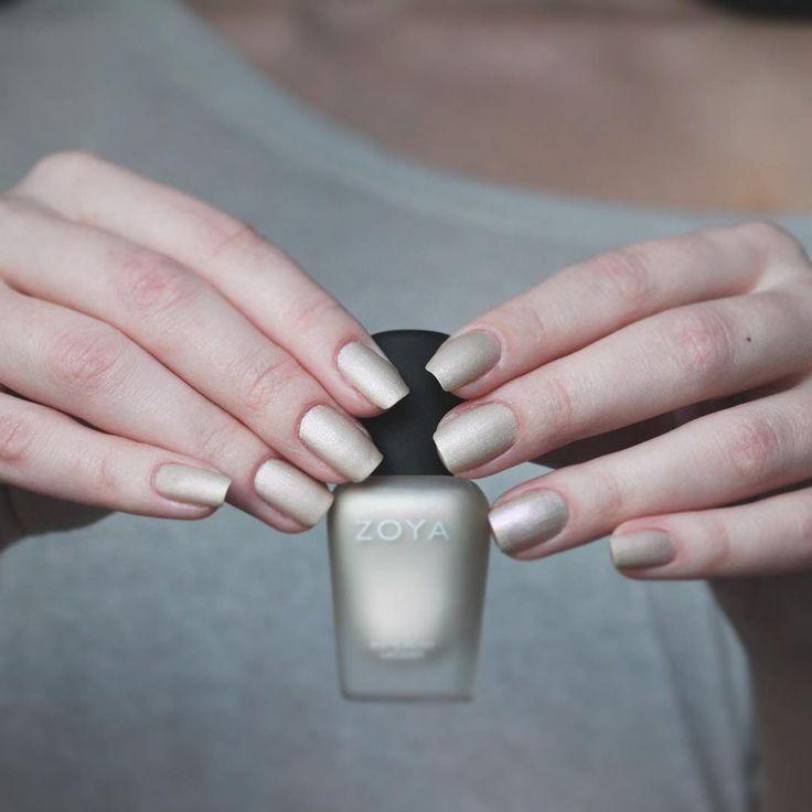 Zoya Matte Velvet Nail Polish in Sue via @laureatka