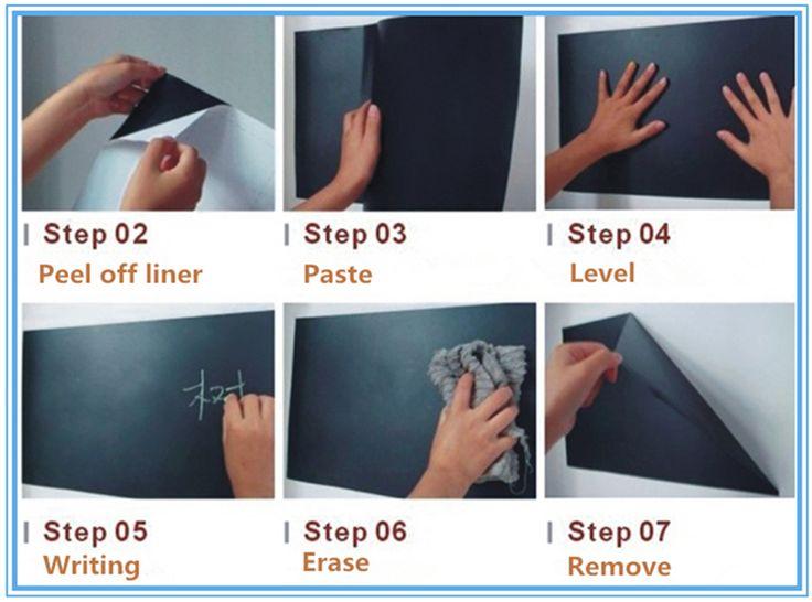 Self adhesive whiteboard film/decorative whiteboard sticker