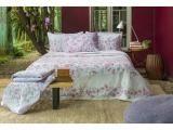 Jogo de Lençol King Size Com Elástico 100% algodão - Santista Home Design Isa