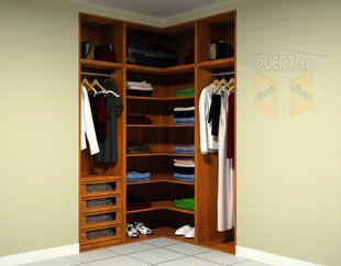 Interior de armario en esquina: Catálogo de Puertas García Flores