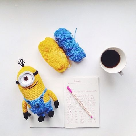 Little Things Blogged: Amigurumi Despicable Me Minion