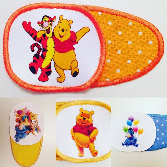 Eyepatch for children with Winnie the Pooh Tigger от MalinkaArt
