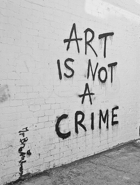 alternative, art, black and white, brick, crime, graffiti, grunge, hippie, hipster, indie, soft grunge, vintage, wall, words