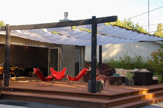 Flag Emporium: Sun/Shade Patio Covers - lots of different colors, too.