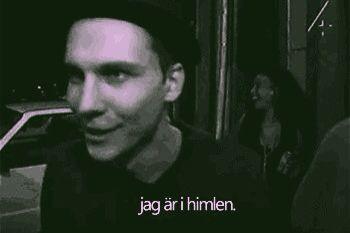 Håkan Hellström: Jag är i himlen.