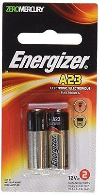 Energizer A23 Battery, 12 Volt, 12 Batteries (6 X 2 count Packages)