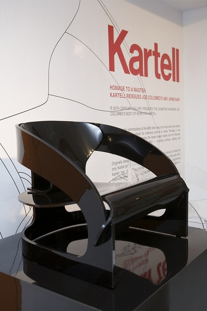 Joe Colombo 4801 Armchair for Kartell...now in signature plastic...beautiful!