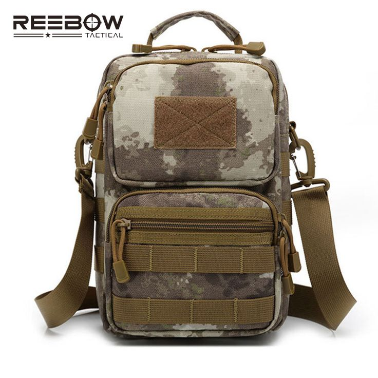 ==> [Free Shipping] Buy Best Tactical Military Single Shoulder Bag Outdoor Sports Men MOLLE Camouflage Messenger Sling Pack Cycling Running Camping ARMY Online with LOWEST Price | 32717397992