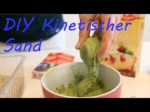 DIY Moon Sand I Kinetic Sand I Zaubersand I Selber machen I Deutsch - Finola 2015 - YouTube