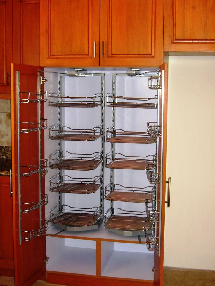 Stainless Steel Swing Out Pantry Storage Hannah Modular