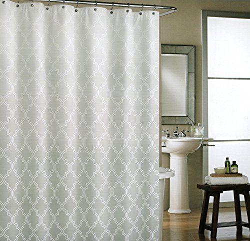 Cynthia rowley grey moroccan tile quatrefoil ombre 100