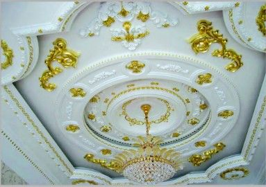 Gypsum fireproof interior ceiling decoration ,gypsum board ,gypsum coving cornice