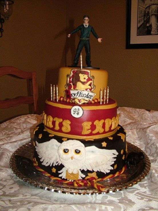 93 best Cake Harry Potter images on Pinterest Cakes Harry