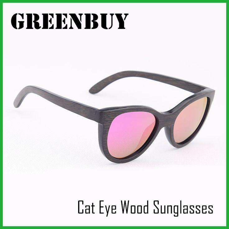$16.81 (Buy here: https://alitems.com/g/1e8d114494ebda23ff8b16525dc3e8/?i=5&ulp=https%3A%2F%2Fwww.aliexpress.com%2Fitem%2FGREENBUY-Women-Cat-Eye-Sunglasses-2016-Luxury-Brand-oculos-polarizado-Bamboo-Sunglasses-Steampunk-Wood-Eyewear-Glasses%2F32721648650.html ) GREENBUY Women Cat Eye Sunglasses 2016 Luxury Brand oculos polarizado Bamboo Sunglasses Steampunk Wood Eyewear Glasses for just $16.81