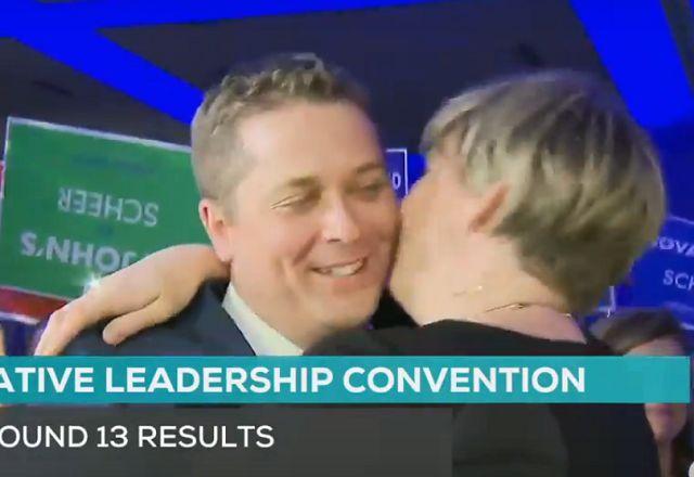 WATCH: The Moment Andrew Scheer Won Conservative Leadership Vote ||| Spencer Fernando