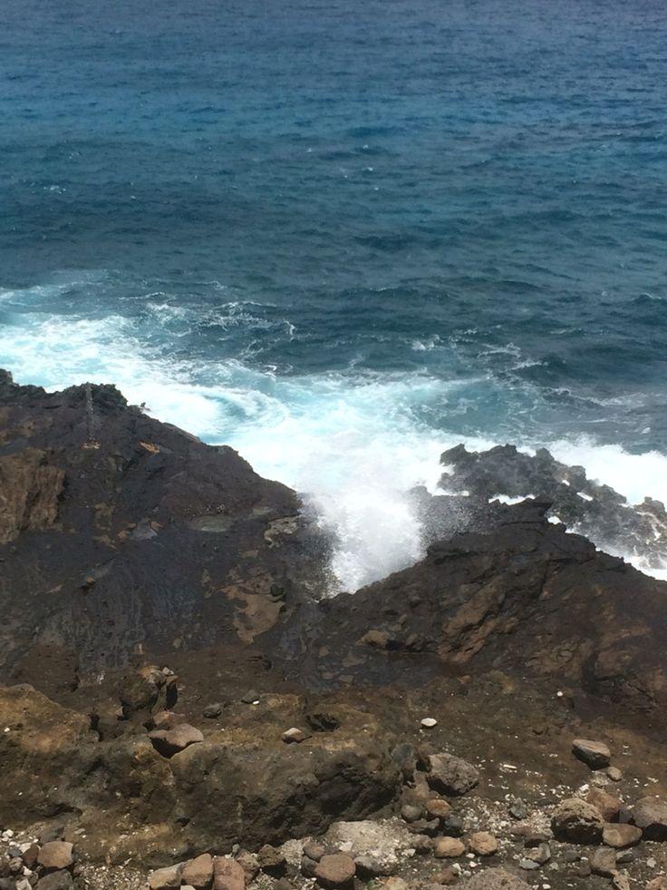 Halona Blow Hole, Oahu