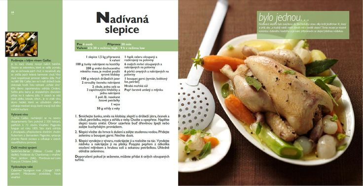 Nadívaná slepice recept, Tefal Mijotcook SD5000