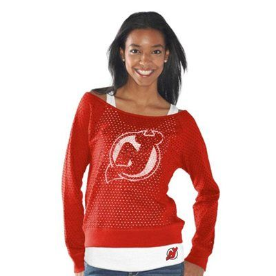 New Jersey Devils Womens Holy Long Sleeve T-Shirt and Tank – Red. Omg I love it!!