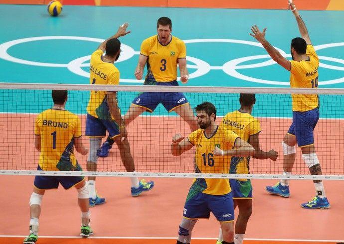 "Brasil bate o Canadá na primeira ""balada olímpica"" e segue invicto"