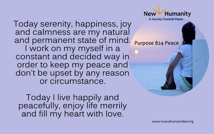Purpose 824 Peace