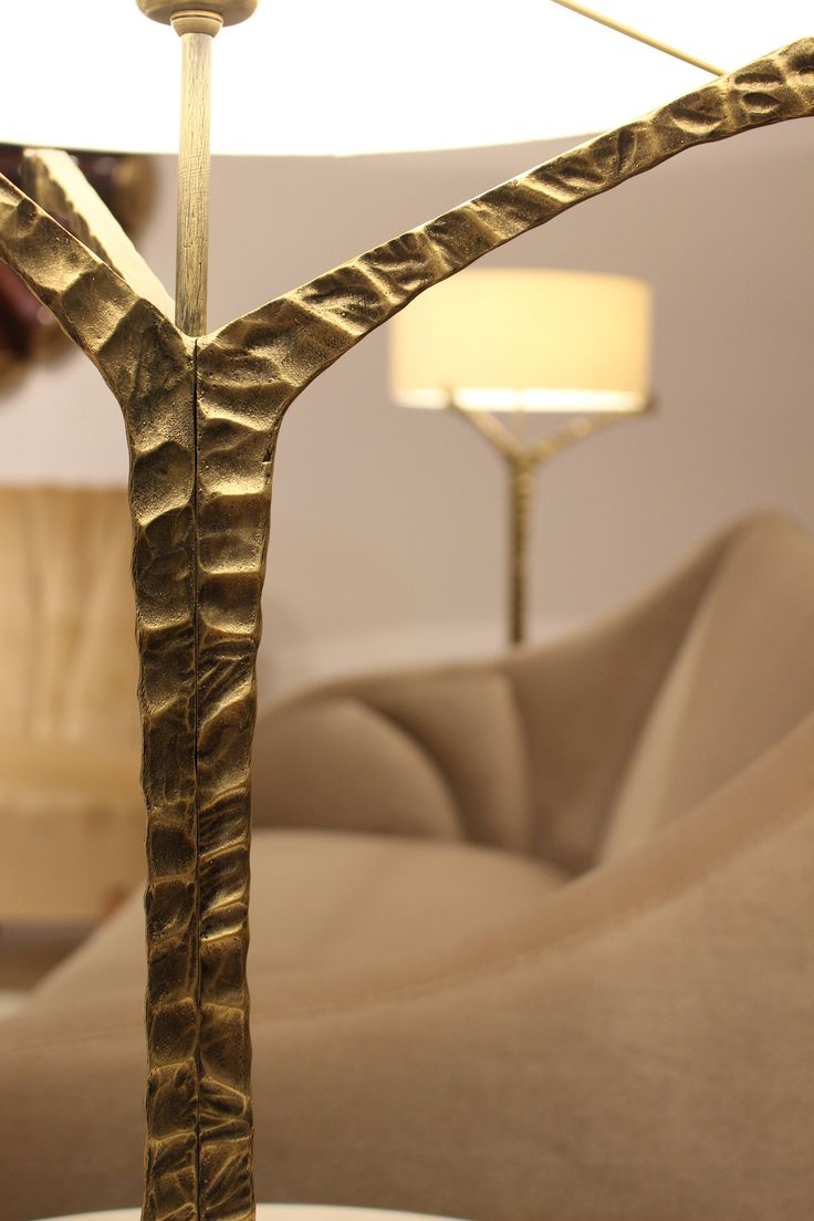 The splendid imperfection of nature.  Explore more about Alentejo table lamp in cast brass at www.insidherland.com JSB #insidherland #jsb #alentejo #lamp #lighting #tablelamp #detail #brass #brasslamp #handmade #handcraftedlighting #organiclighting #metal #gold #goldfinish #antique #aged #golden #lampshade #madeinportugal #luxury #exclusivedesign #joanasantosbarbosa #architect #portugal