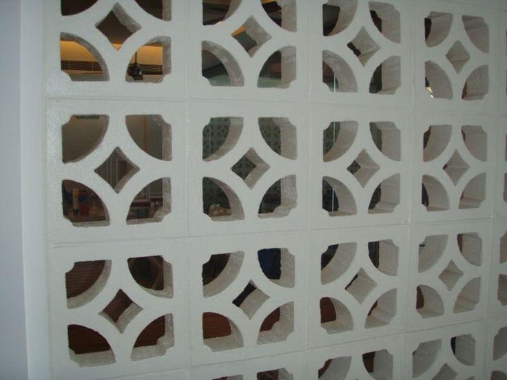 60's decorative concrete blocks
