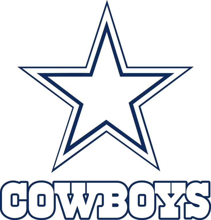 Dallas Cowboys Logo Drawings Dallas Cowboys Star Lo Drawing