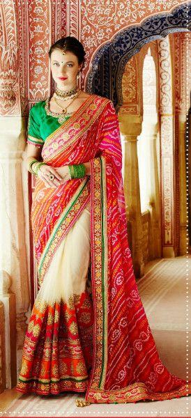 Jay Sarees Wedding heavy work Sare Jcseries2281d03