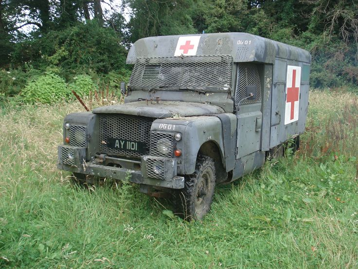 Land Rover Series IIA 2.25 Petrol Marshalls Bodied Ambulance with Northern Ireland Vehicle Protection Kit