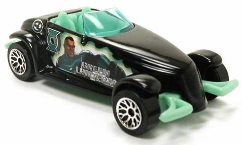 "Matchbox Plymouth Prowler green lantern 1/64  "" Free Shipping!!!"""