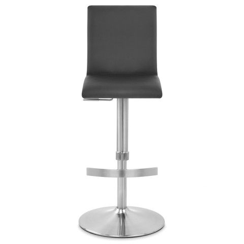 Deluxe Brushed High Back Stool Black - Atlantic Shopping