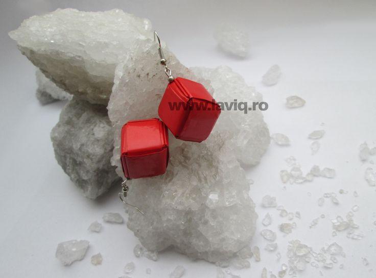 Cercei Eco cub Rosii