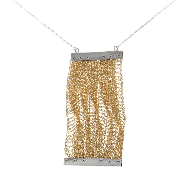 Pendant - Pleated Collection by FROU FROU